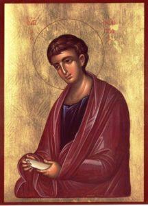Filipus eine Symbolfigur des neuen Testaments fürs Fasten