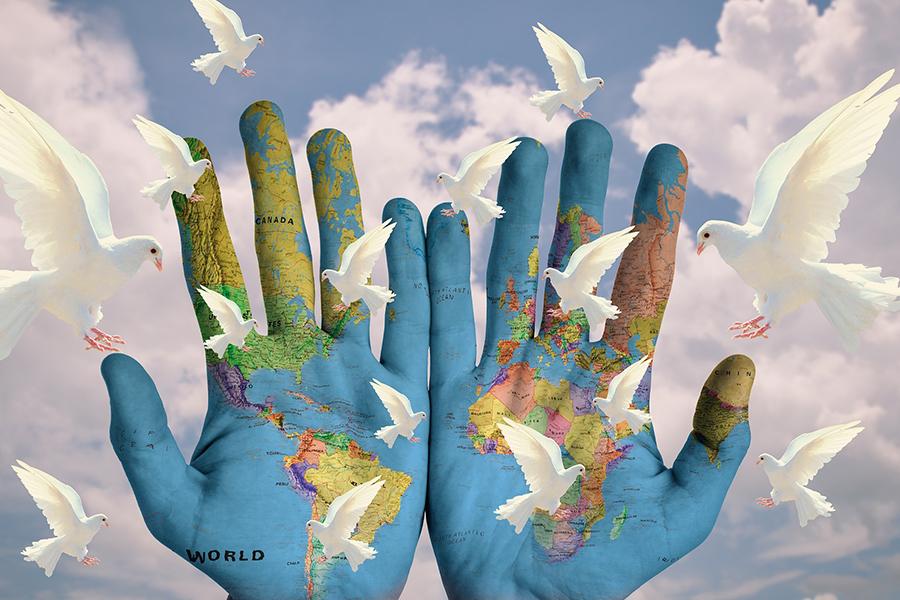 Die Jünger Jesu tragen seine Botschaft in alle Länder